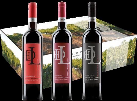 Auswahl an Rotweinen